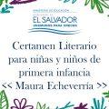 Ministerio de Educación de El Salvador premia la producción literaria para la primera infancia