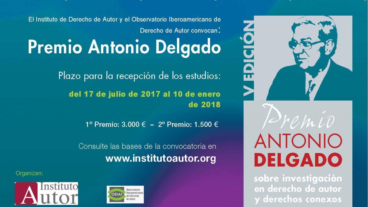 Banner V Premio Antonio Delgado