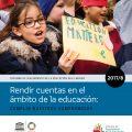 Rendir cuentas en el  ámbito de la educación: cumplir nuestros compromisos