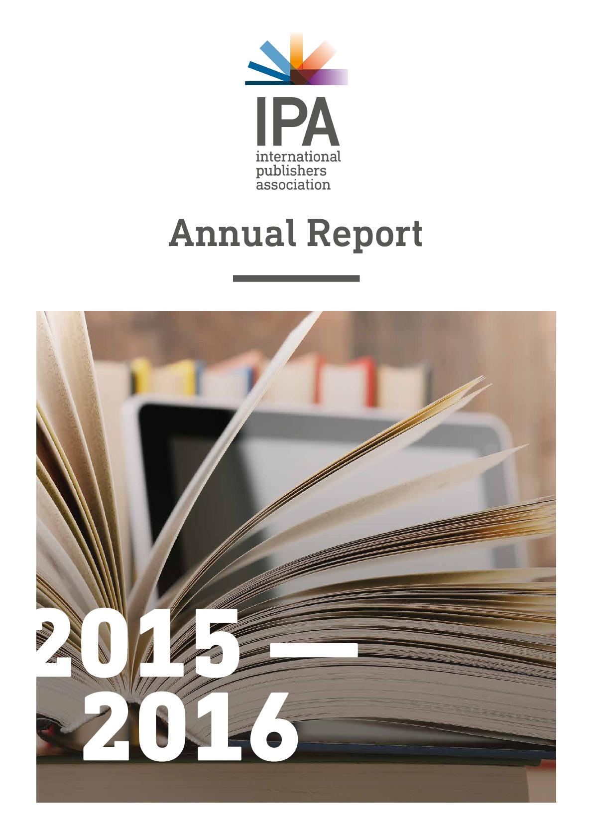 IPA Annual Report 2015-2016