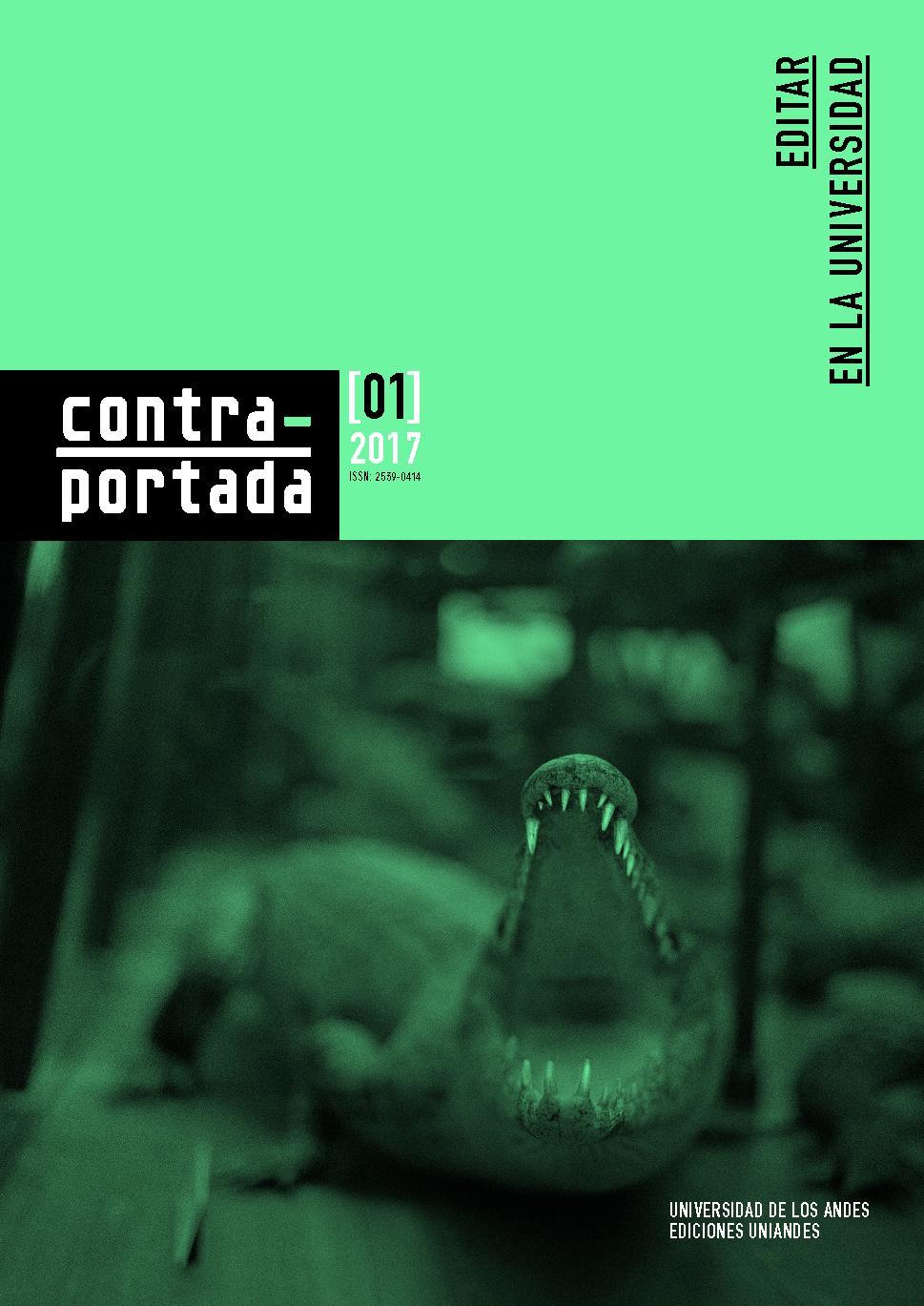 Revista Contraportada n.° 1 Editar en la universidad