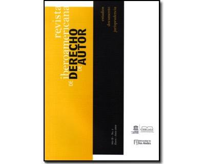 Revista Iberoamericana de Derecho de Autor 3