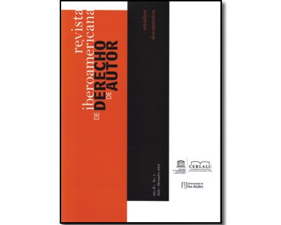 Revista Iberoamericana de Derecho de Autor 4