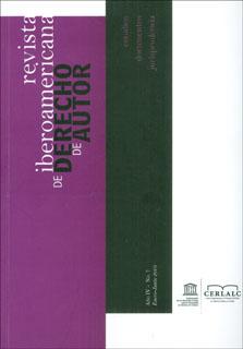 Revista Iberoamericana de Derecho de Autor 7