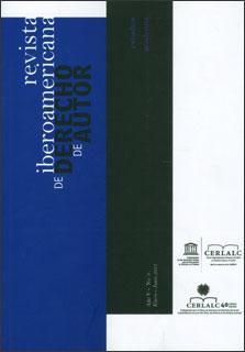 Revista Iberoamericana de Derecho de Autor 9