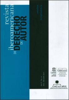 Revista Iberoamericana de Derecho de Autor 10