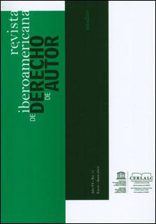 Revista Iberoamericana de Derecho de Autor 11
