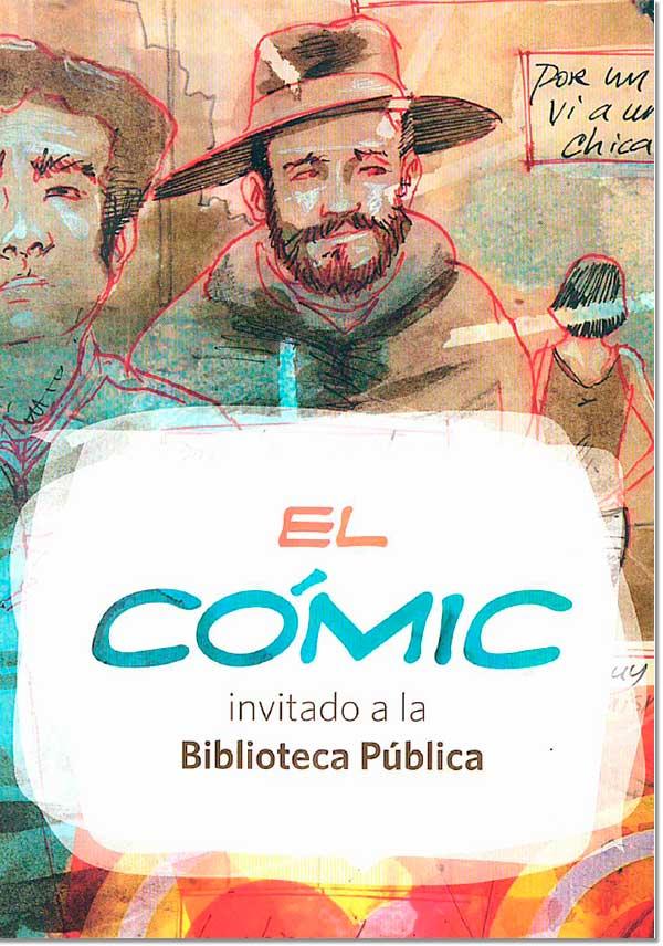 El cómic, invitado a la biblioteca pública