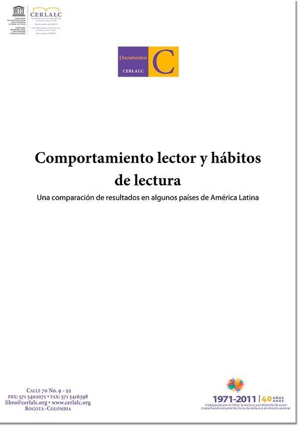Comportamiento lector y hábitos de lectura. Una comparación de resultados en   algunos países de América Latina