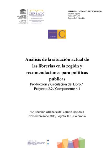 Librerías: políticas nacionales del libro, asociaciones e iniciativas privadas y casos de éxito