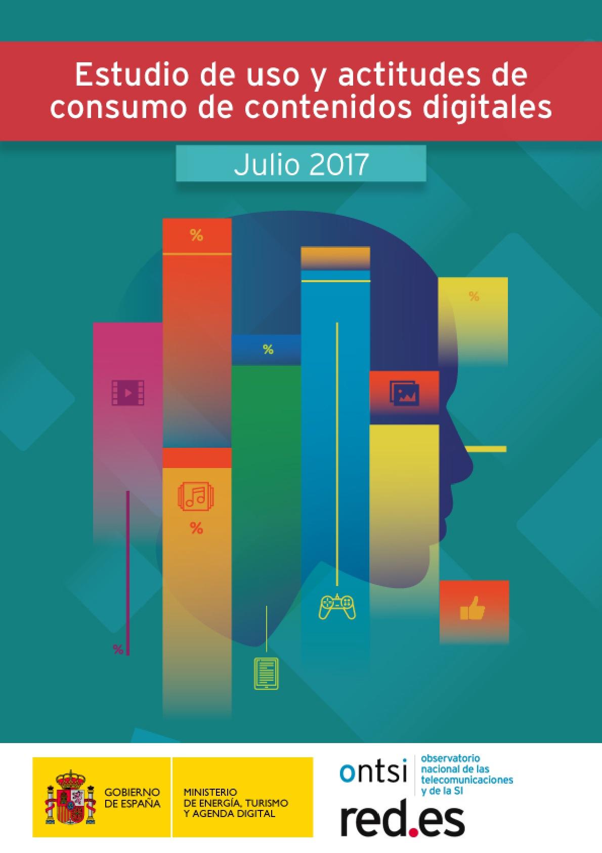 Estudio de uso y actitudes de consumo de contenidos digitales 2017
