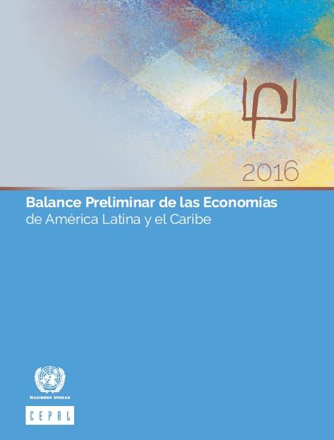 Balance preliminar de las economíasde América Latina y el Caribe
