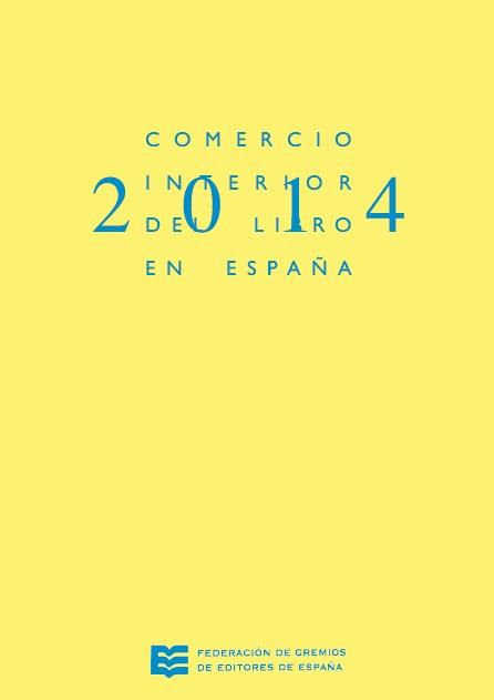 Comercio Interior del Libro en España 2014