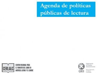 Agenda de políticas públicas de lectura
