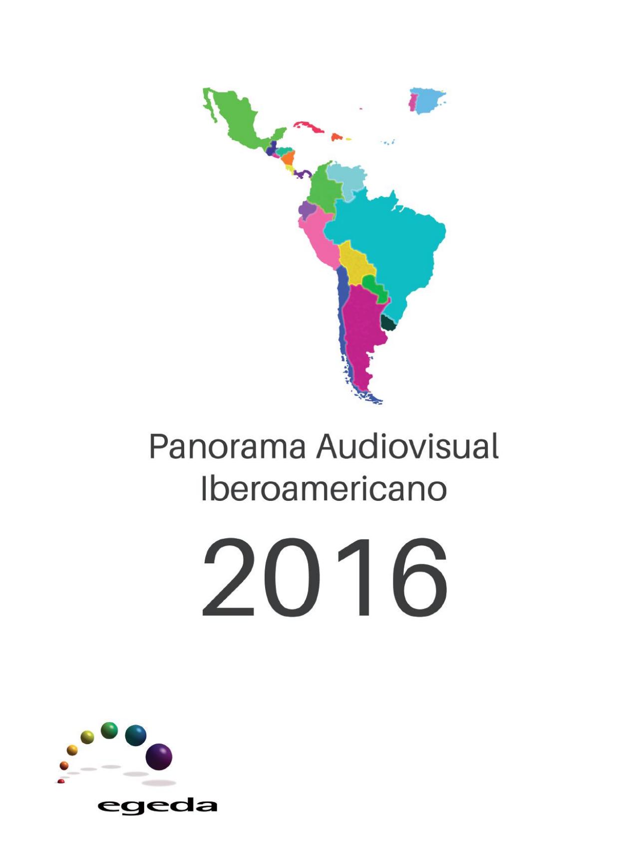 Panorama Audiovisual Iberoamericano 2016