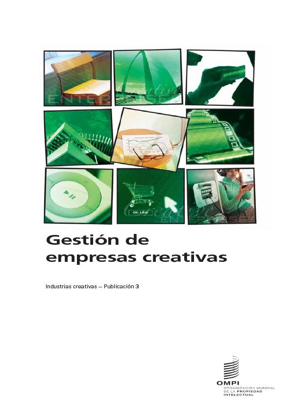 Gestión de empresas creativas