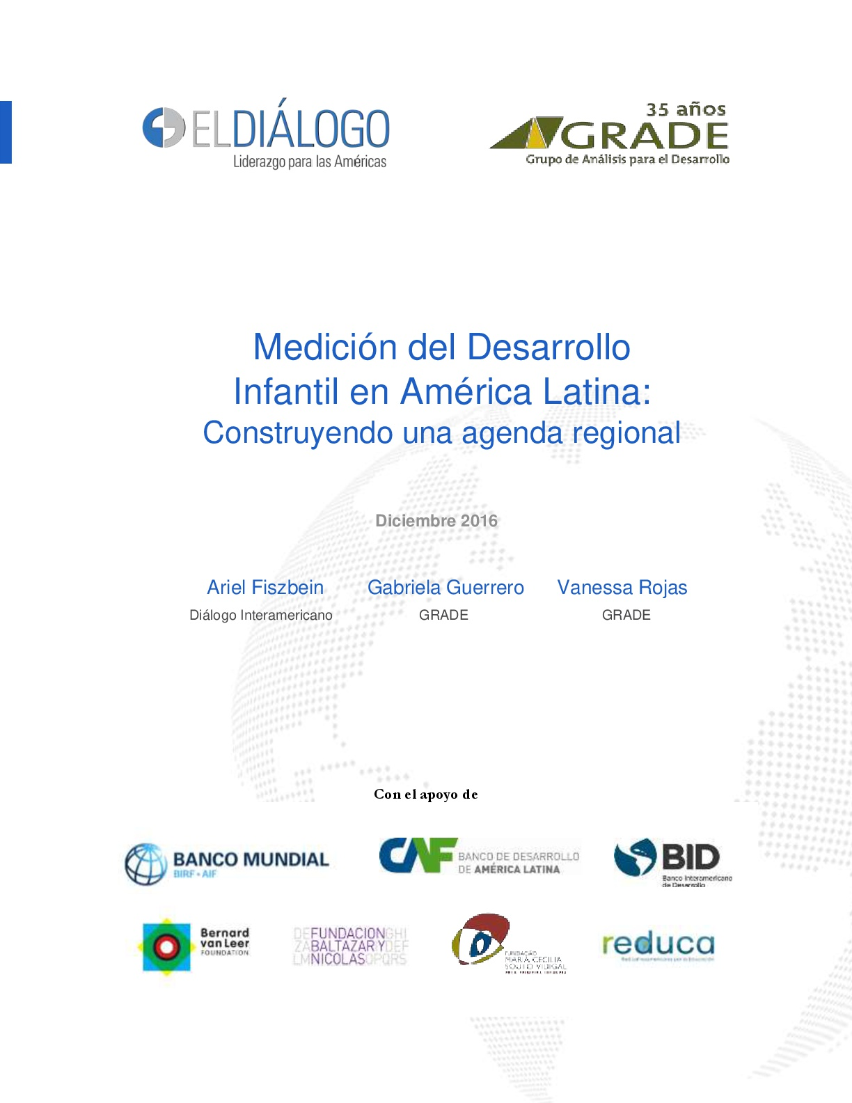 Medición del desarrollo infantil en América Latina: Construyendo una agenda regional