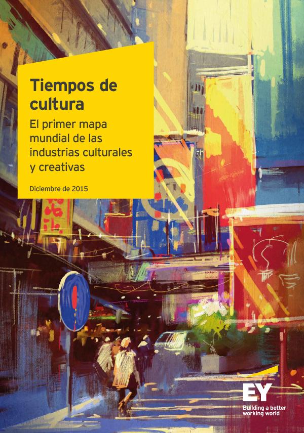Tiempos de cultura: El primer mapa de las industrias culturales y creativas