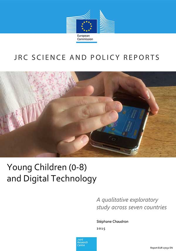 Young Children (0-8) and Digital Technology: A qualitative exploratory study across seven countres