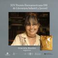 Graciela Montes ganadora del XIV Premio Iberoamericano SM de Literatura Infantil y Juvenil