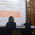 Fredy Forero en Seminario de Derecho de Autor en México