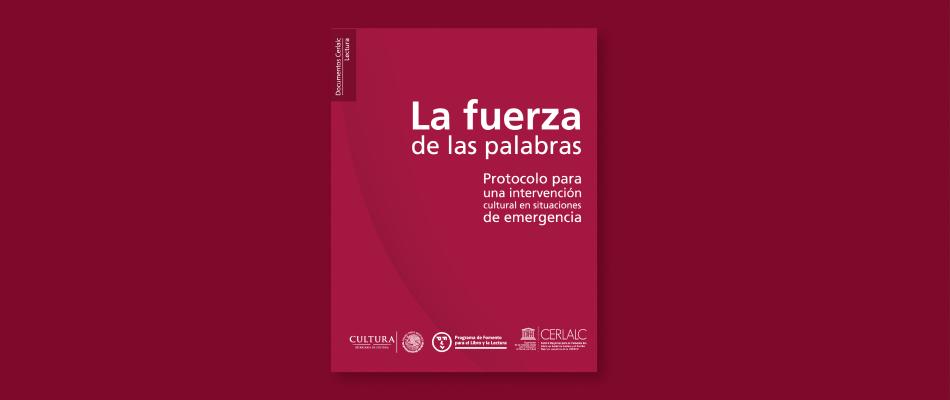 Hoy se lanza el Protocolo de intervención cultural en emergencias en México