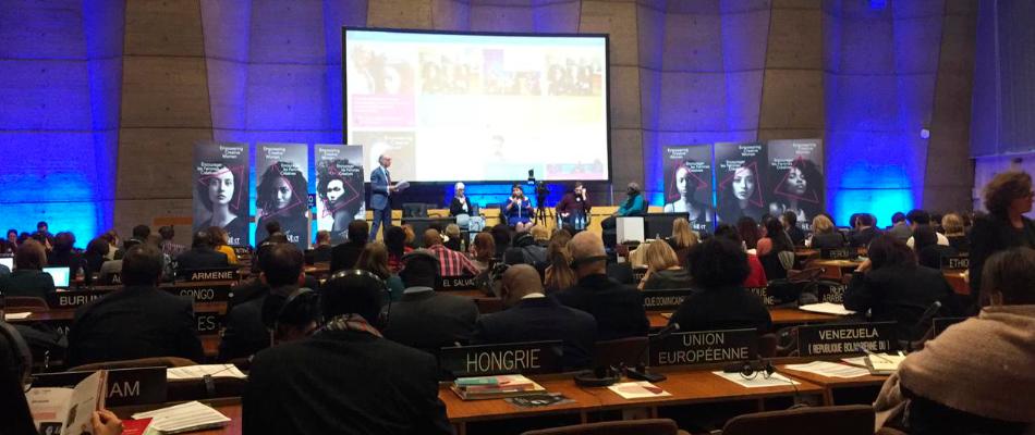 Misión de la directora del Cerlalc en la UNESCO
