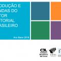 Produção e  vendas do setor editorial  brasileiro. Ano Base 2018.