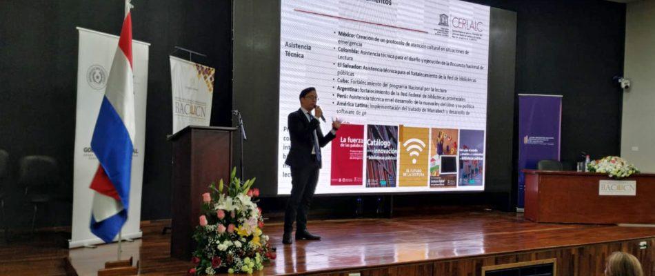 1º  Encontro Nacional de Bibliotecas Públicas e Bibliotecários do Paraguai