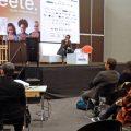 Apresentação do documento no evento de Editores Independentes da Feira Internacional do Livro de Bogotá