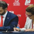 O Panamá assina convênio de cooperação para a implementação do  Tratado de Marrakech