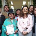 Visita oficial al Cerlalc de la ministra de Culturas y Turismo de Bolivia, Martha Yujra