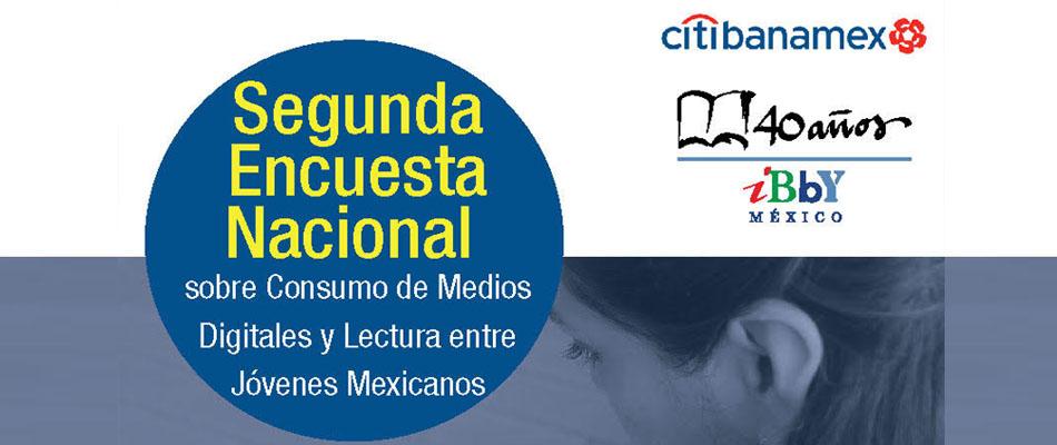 Así fueron los resultados de la Segunda Encuesta Nacional sobre Consumo de Medios Digitales y Lectura entre Jóvenes Mexicanos