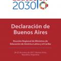 Declaración de Buenos Aires  Reunión Regional de Ministros de Educación de América Latina y el Caribe