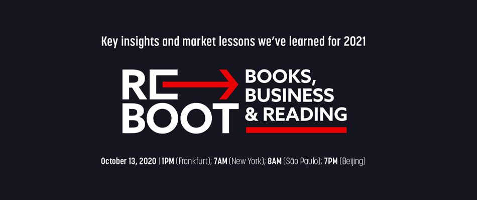 """El Cerlalc otorga un código de descuento para participar en """"ReBoot: Books, Business and Reading 2020"""""""